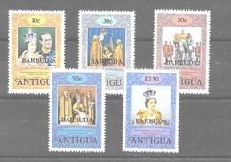 Serie De Antigua Nº Yvert 385/89 ** - Antigua Y Barbuda (1981-...)