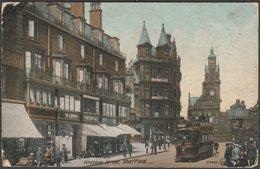 Pinstone Street, Sheffield, Yorkshire, 1912 - Valentine's Postcard - Sheffield