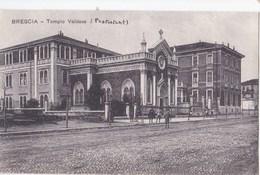 Cartolina : Brescia  (Italie) Tempio Valdese  Ed Garibaldi Rara Anni 30 - Brescia