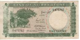 SIERRA  LEONE  1 Leone  P1a    ND  1964 - Sierra Leone