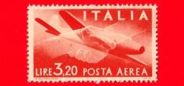 Nuovo - MNH - ITALIA - 1945 - Democratica - POSTA AEREA - Stretta Di Mano, Caproni-Campini 1 - 3.20 - 6. 1946-.. Repubblica