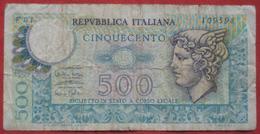 500 Lire 1974 (WPM 94) - [ 2] 1946-… : Repubblica