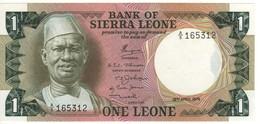 SIERRA  LEONE  1 Leone  P5a    Dated  19.4.1974   A/5 - Sierra Leona