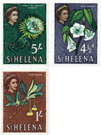 Ref. 241829 * HINGED *  - ST. HELENA . 1961. DIFFERENT CONTENTS. MOTIVOS VARIOS - Isla Sta Helena