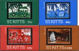 Ref. 43849 * NEW *  - ST. KITTS . 1985. HANDICRAFTS. ARTESANIA - St.Kitts And Nevis ( 1983-...)