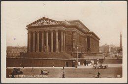 St George's Hall, Liverpool, Lancashire, 1937 - RP Postcard - Liverpool