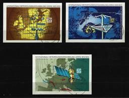 DDR - Block Nr. 34 + 35 + 36 - 100 Jahre Meteorologen-Versammlungen Gestempelt (6) - DDR