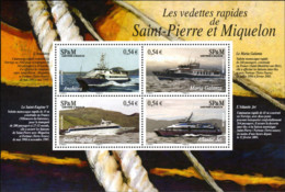 Ref. 198605 * NEW *  - ST. PIERRE AND MIQUELON . 2006. SHIPS. BARCOS - St.Pedro Y Miquelon