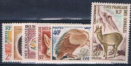 Cote Des Somalies 305 à 310, Neuf** Cote 50.00€ - French Somali Coast (1894-1967)