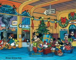 Ref. 573722 * NEW *  - ST. VINCENT . 1988. THE CHRISTMAS TRAIN. EL TREN DE NAVIDAD - St.Vincent (1979-...)