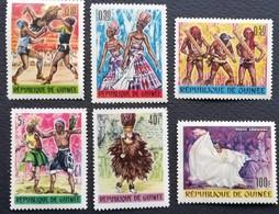 Guinea  1966 Festival Of African Art And Culture - Guinea (1958-...)