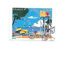 Série Touristique Saint-Brévin-Les-Pins 5047 Oblitéré 2016 - France