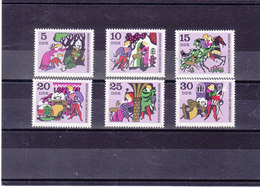 RDA 1970 CONTES Yvert  1238-1243 NEUF** MNH - [6] République Démocratique