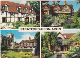 Postcard - Stratford-Upon-Avon - 4 Views - Card No. 2SOA 45 - VG - Cartes Postales