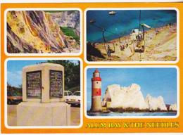 Postcard - Alum Bay And The Needles - 4 Views - Card No. PIW/24235 - VG - Cartes Postales