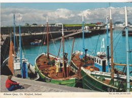 Postcard - Kilmore Quay, Co. Wexford, Ireland - Photo By Joan Willis - Written On Back But Not Posted - VG - Non Classificati