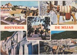 Postcard - Souvenir De Mijas -  (Costa Del Sol) - 5 Views - VG - Cartes Postales