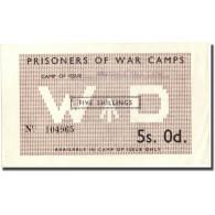 Billet, Grande-Bretagne, 5 Shillings, SUP+ - Autorità Militare Britannica