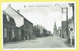 * Beselare (Zonnebeke - Ieper - Ypres) * (Nels, Uitg Van Kersschaever Soete) 2de Gedeelte Wervik Straat, Tramway, église - Zonnebeke