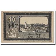 Billet, Autriche, Sandl O.Ö. Gemeinde, 10 Heller, Texte 3, 1920, 1920-05-02 - Autriche
