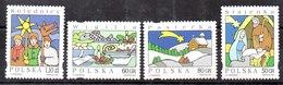 Serie De Polonia N ºYvert 3465/68 (**) - 1944-.... Republic