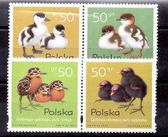 Serie De Polonia N ºYvert 3469/72 (**) - 1944-.... Republic