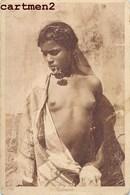 JEUNE BEDOUINE ETHNOLOGIE ETHNIC AFRIQUE EROTISME EROTICISM NAKED WOMAN FEMME SEINS NUS NUDE Lehnert Et Landrock - Africa Settentrionale (Magreb)