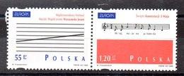 Serie De Polonia N ºYvert 3497/98 (**) - 1944-.... République