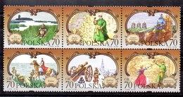 Serie De Polonia N ºYvert 3533/38 (**) - 1944-.... Republic