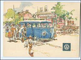 XX003310/ VW Bus  Werbe AK Ca. 1965 - Non Classificati