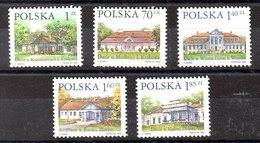 Serie De Polonia N ºYvert 3550/54 (**) - 1944-.... République