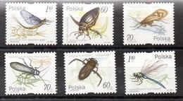 Serie De Polonia N ºYvert 3558/63 (**) INSEPTOD (INSECTS) - 1944-.... République