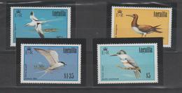 Anguilla 1985 Oiseaux 586-89 4 Val ** MMH - Anguilla (1968-...)