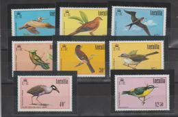Anguilla 1985 Oiseaux 606-13 8 Val ** MMH - Anguilla (1968-...)