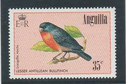 Anguilla 1986 Oiseaux 628 1 Val ** MMH - Anguilla (1968-...)