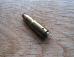 Cartouche NEUTRALISEE  De Collection 7.63 X 25  FNM 7.63 1-73 Fabrique Nationale De Munitions, De Moscavide (Lisbonne ) - Armes Neutralisées