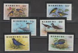 Barbuda 1976 Oiseaux 251-56 6 Val ** MMH - Barbuda (...-1981)