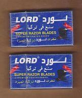 AC - LORD SUPER RAZOR BLADES 5 BLADES IN UNOPENED BOX - Razor Blades