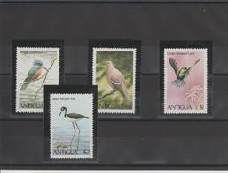 Antigua 1980 Oiseaux 588-91 4 Val ** MMH - 1960-1981 Autonomie Interne