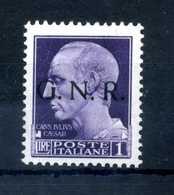 1944 GNR RSI 1L MNH ** - Nuevos
