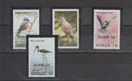 Barbuda 1980 Oiseaux 499-502 4 Val ** MMH - Barbuda (...-1981)