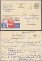 """Publibel 1300 - 1F20 - Thématique Alimentation """" Biscotte """" (6G23184) DC0740 - Stamped Stationery"""