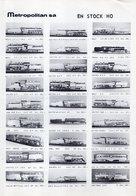 Catalogue METROPOLITAN INFORMATIONS Bulletin N. 11 Janvier-Fevrier 1973 - En Français Et Allemand - German