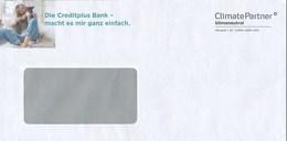 BRD ClimatePartner Klimaneutral Versand ID Creditplus Bank Frau Hund - Umweltschutz Und Klima