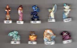 Série Complète 9 Fèves Brillantes HERCULE Disney 1998 - Disney