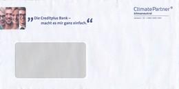 BRD ClimatePartner Klimaneutral Versand ID Creditplus Bank Frauen + Männer - Umweltschutz Und Klima