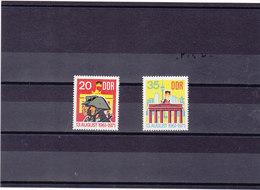 RDA 1971 MUR DE BERLIN Yvert 1381-1382 NEUF** MNH - [6] République Démocratique
