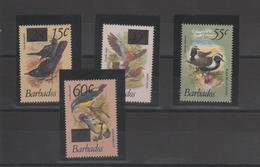 Barbade 1981 Oiseaux 533-36 4 Val ** MMH - Barbades (1966-...)