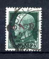 1944 GNR RSI 25c. USATO - 1944-45 République Sociale