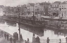 Leiden Aankomst Bijwagens Voor Lijn Leiden - Den Haag 1930 - Leiden